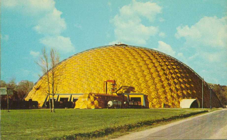 Buckminster Fuller's Union Tank Car Dome was sadly demolished in 2007.