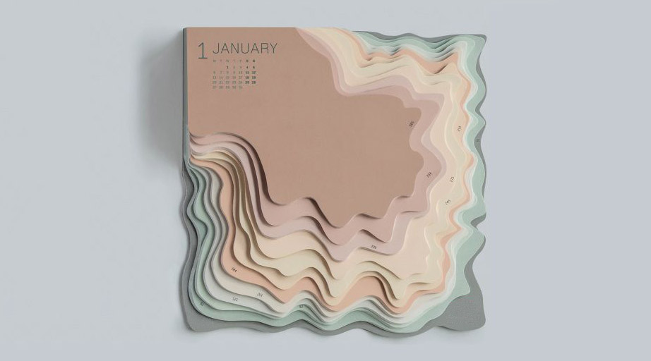 Photo: Topographic Map by TBWA Istanbul.