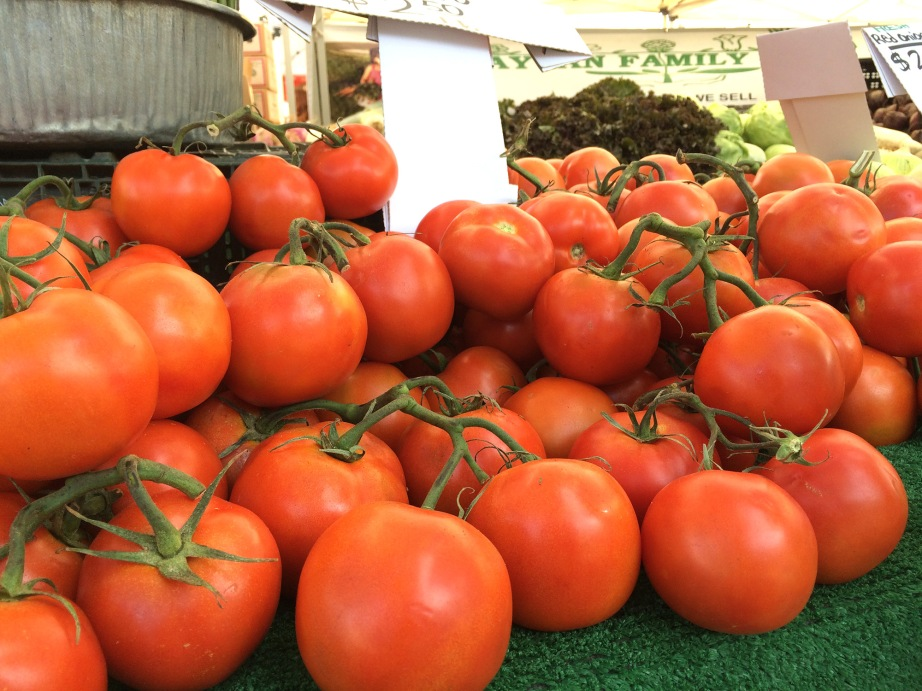 Photo by LDaley_farmers market tomatoes