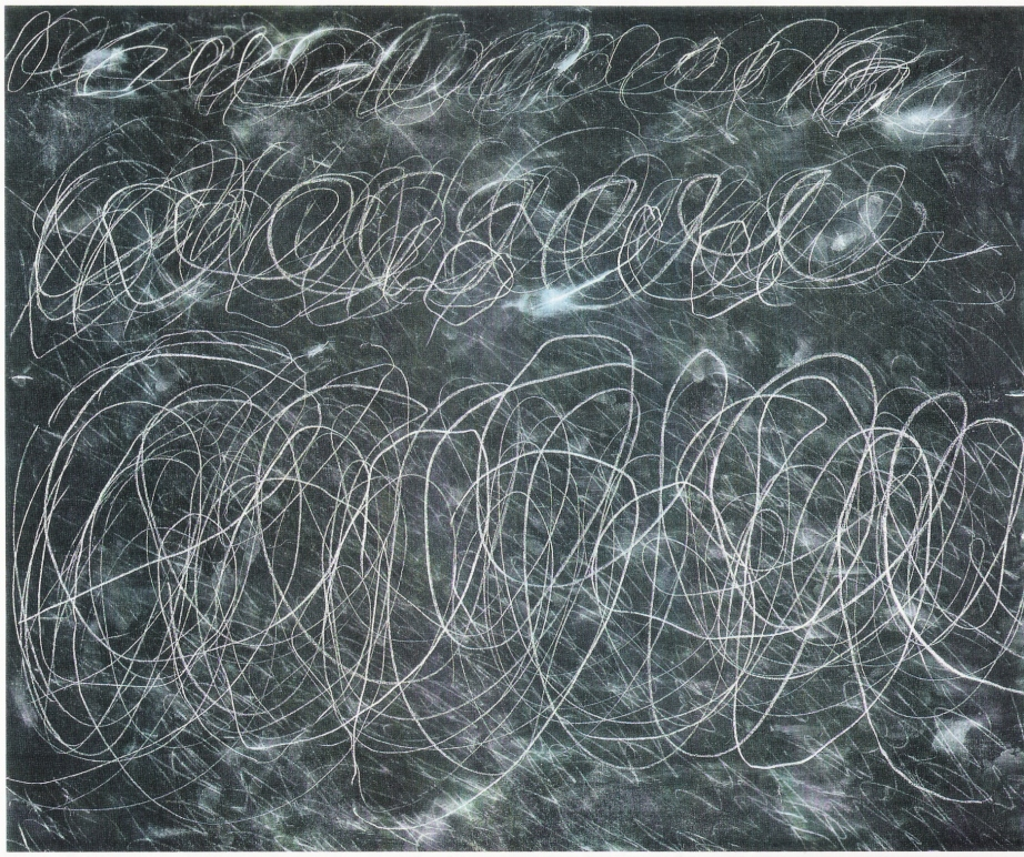"""Untitled"" 1970, Cy Twombly"