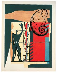 Le Corbusier's The poem of the Right Angle plates 6, 1955, via Moderna Museet