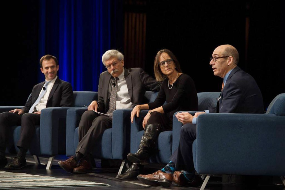 The Making of 10 Parks That Changed America panel; photo via American Society of Landscape Architects Facebook page.