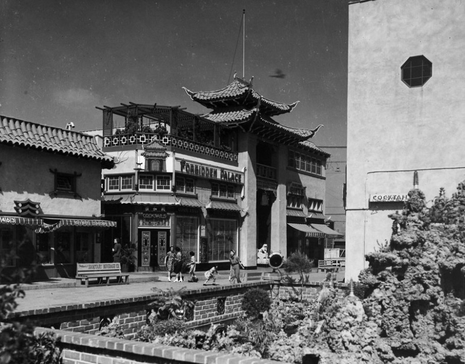 Chinatown in the 1950's