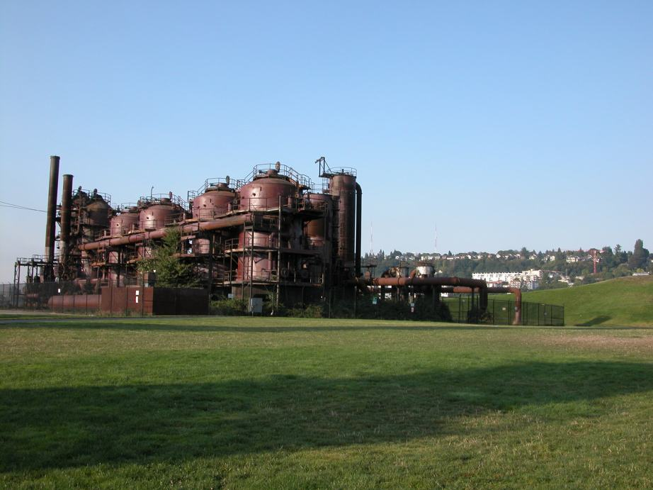 Gas Works Park, Creative Commons photo via Wikimedia Commons.