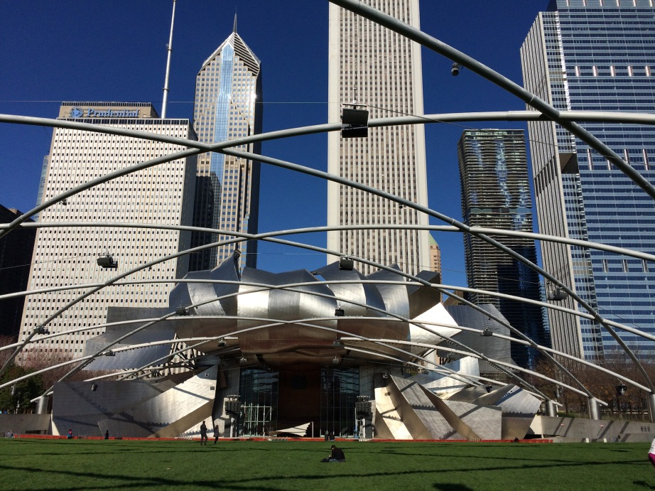 Chicago's Millennium Park; Photo by Linda Daley