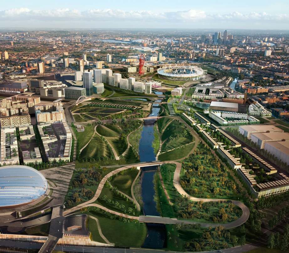 Queen Elizabeth Olympic Park, London, UK via London Living