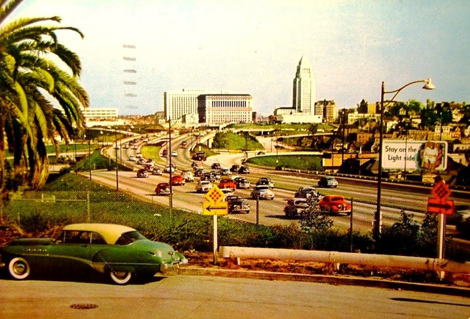 HollywoodFreeway1950s