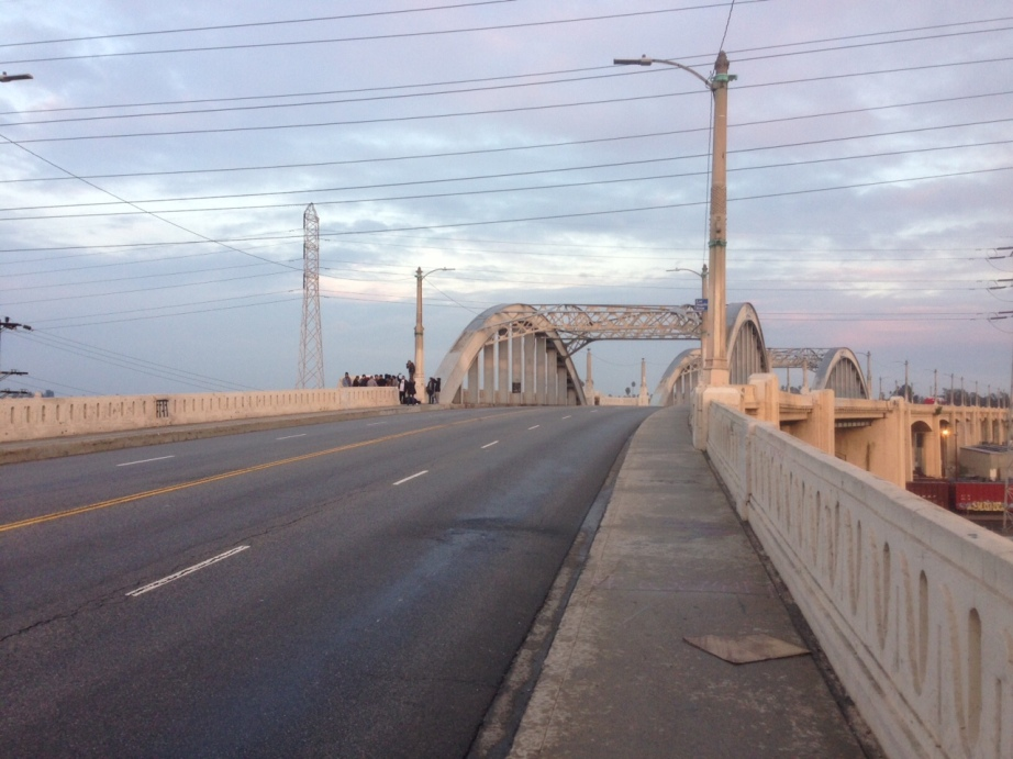 Shot of Sixth Street Bridge - photo by Heejae Lee