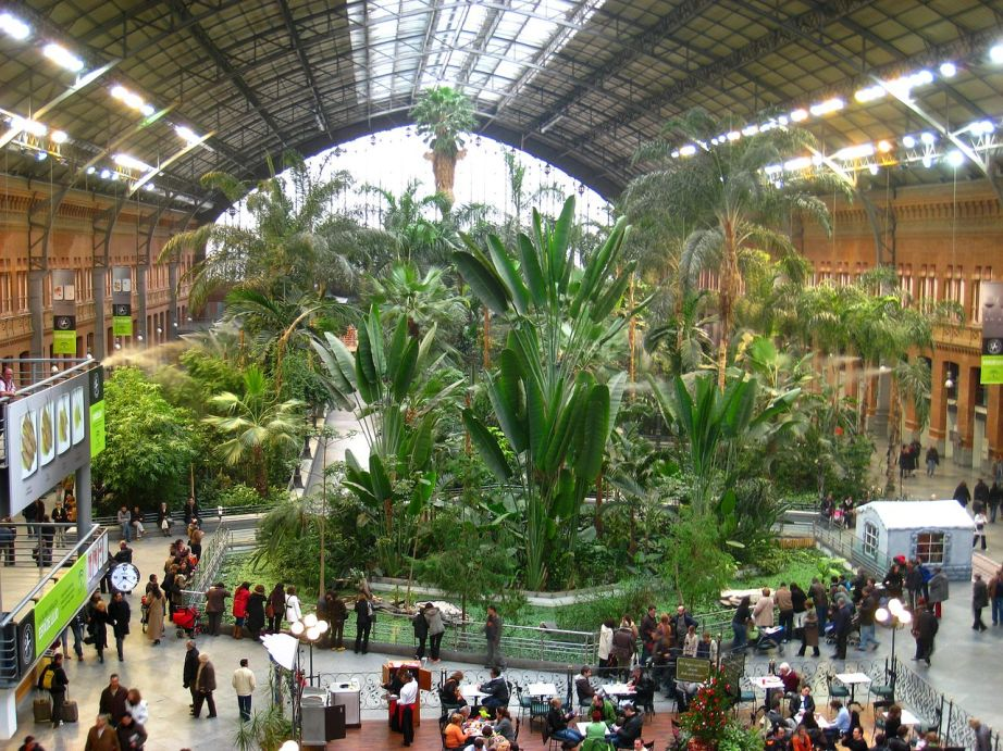 Madrid Atocha Railway Station / Creative Commons photo
