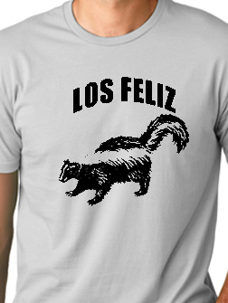 Silver Lake's neighbor, Los Feliz, is also known for their urban community of skunks.