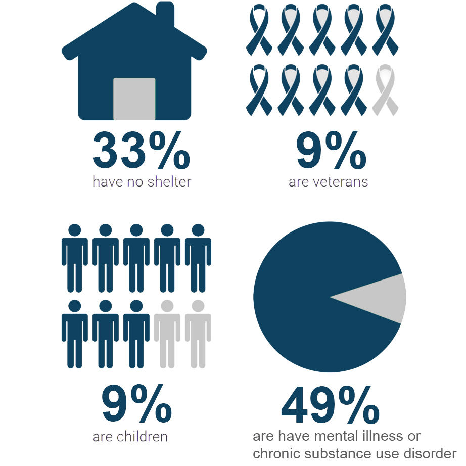Infographic by Yiran Wang, Data source: The State of Homelessness in America 2015 report