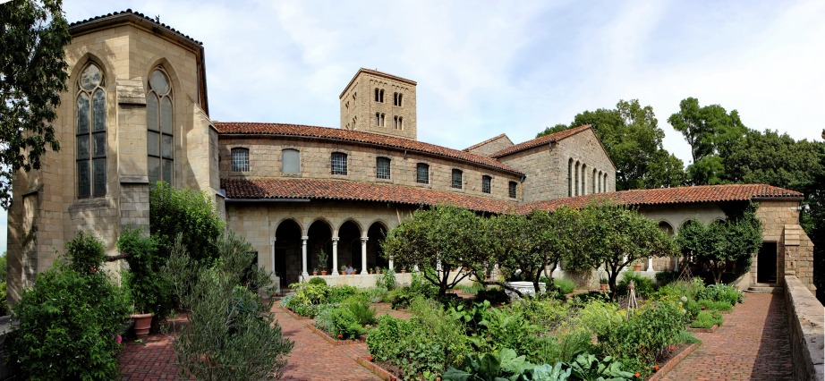 Fort Tryon Park and the Cloisters. Creative Commons photo by Jose Olivares.