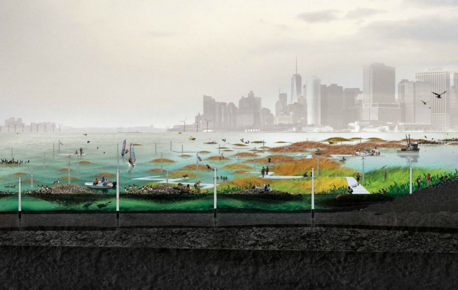 SCAPE Studio's Oyster-tecture looks to long evolved natural systems to tackle modern problems.