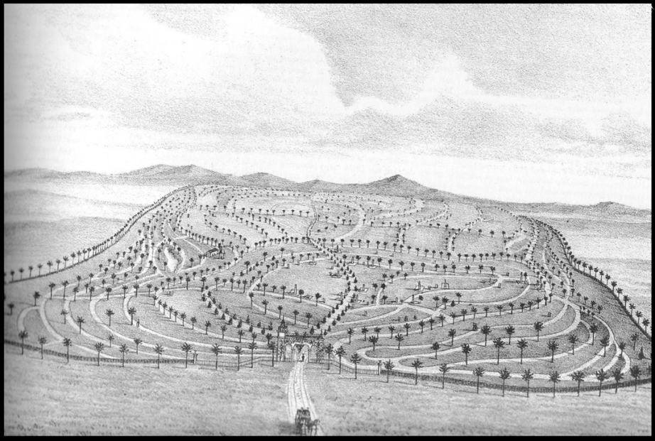 Illustration: History of Los Angeles County, California, Thompson and West, 1880