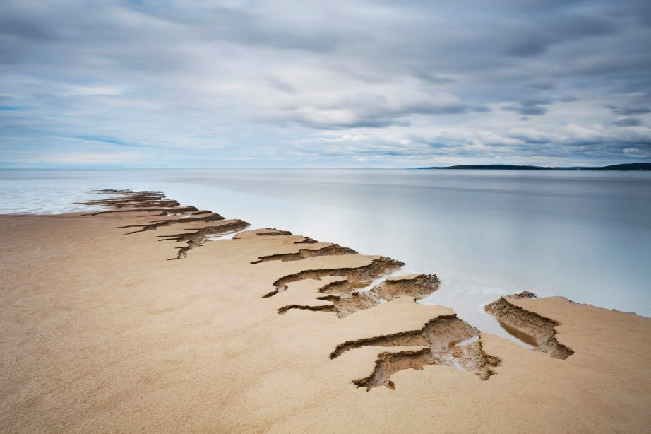 Shifting Sands, taken in Silverdale, Lancashire, which won the Your View award. Photograph: Tony Higginson/PA