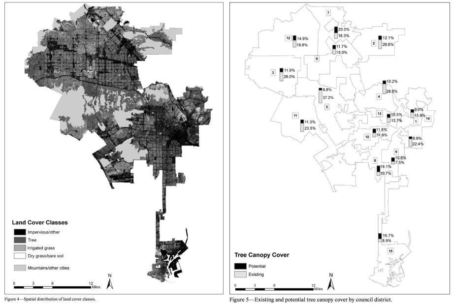 Graphics: Los Angeles 1-Million Tree Canopy Cover Assessment/USDA